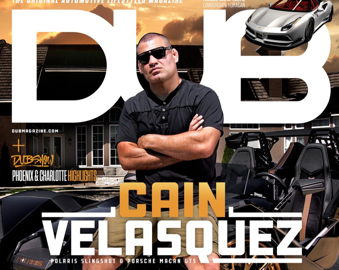 Auto spielen mit Cain Velasquez | SV-F | Savini-Räder