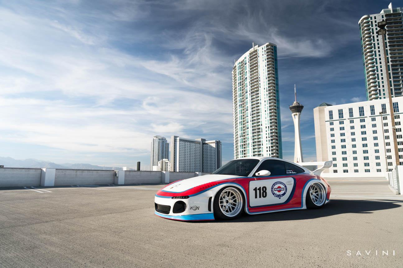 LTMW x Впечатляющая упаковка Porsche 997 Martini | SV63 | Савини Колеса