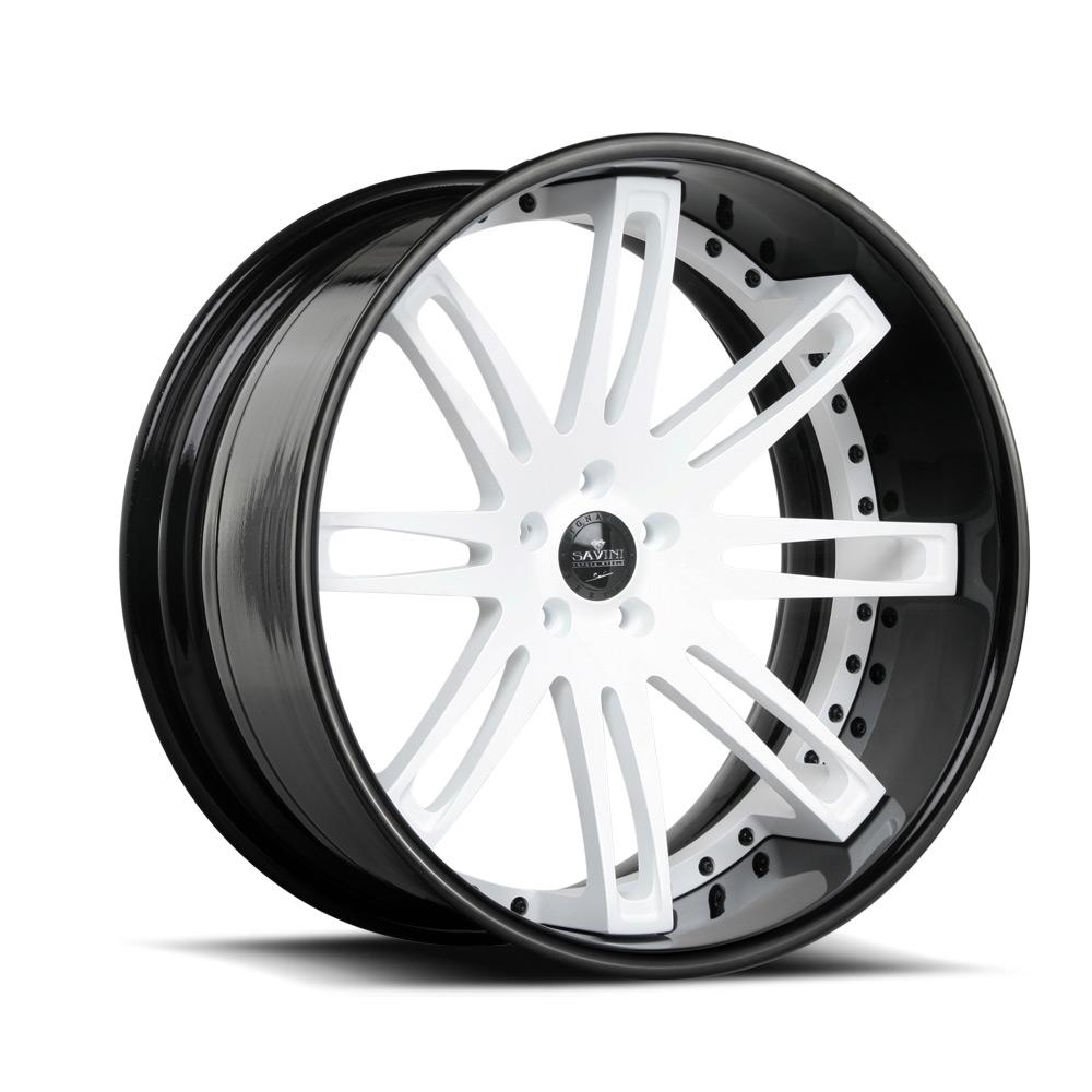 White w/ Black | Xtreme Concave