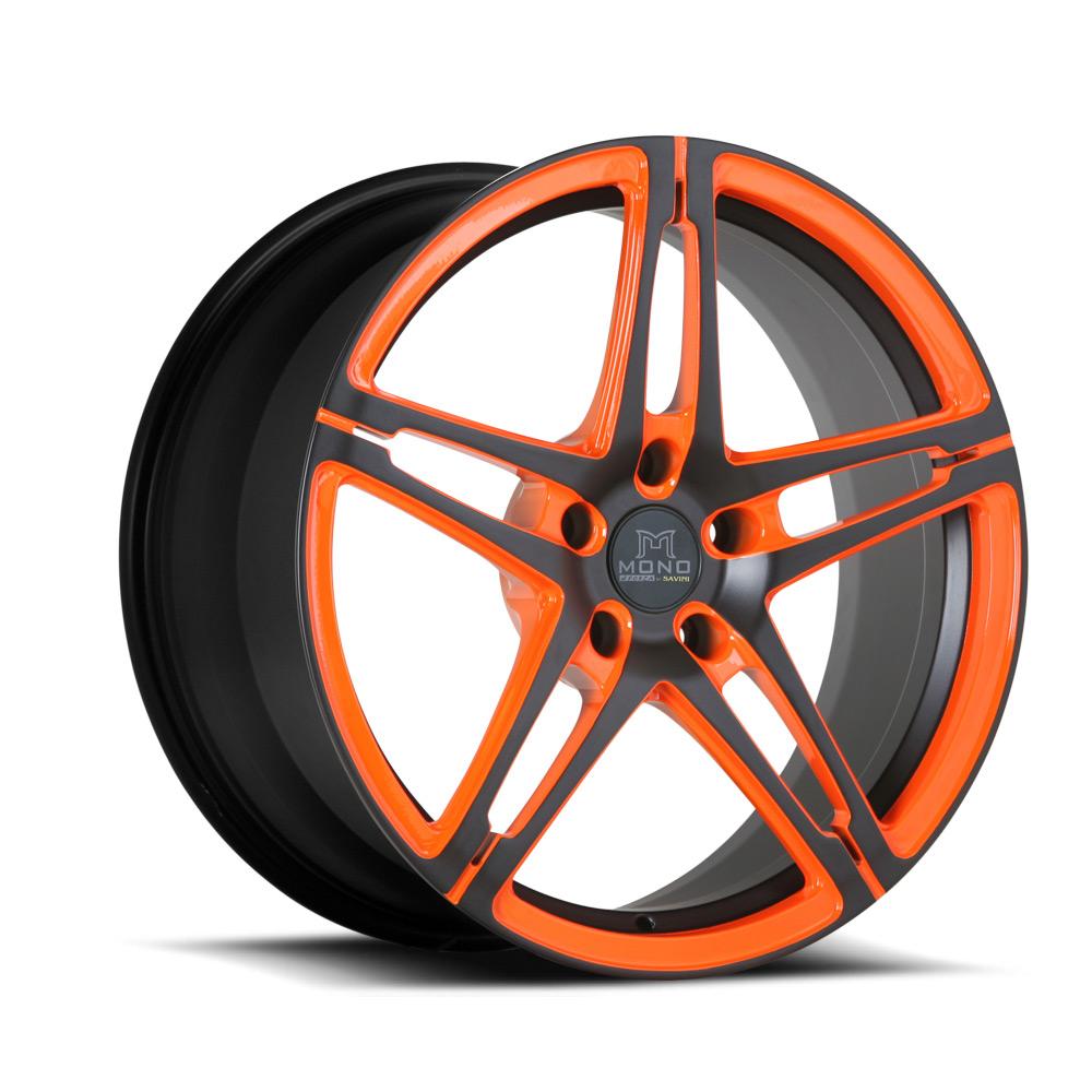 Orange Black | Mono