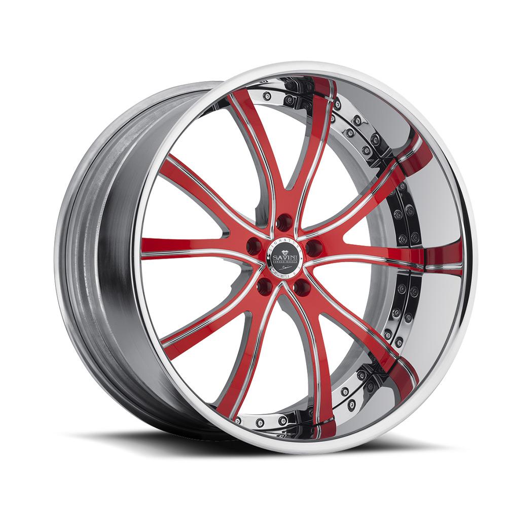 Red High Polish Chrome | Xtreme Lip Technology