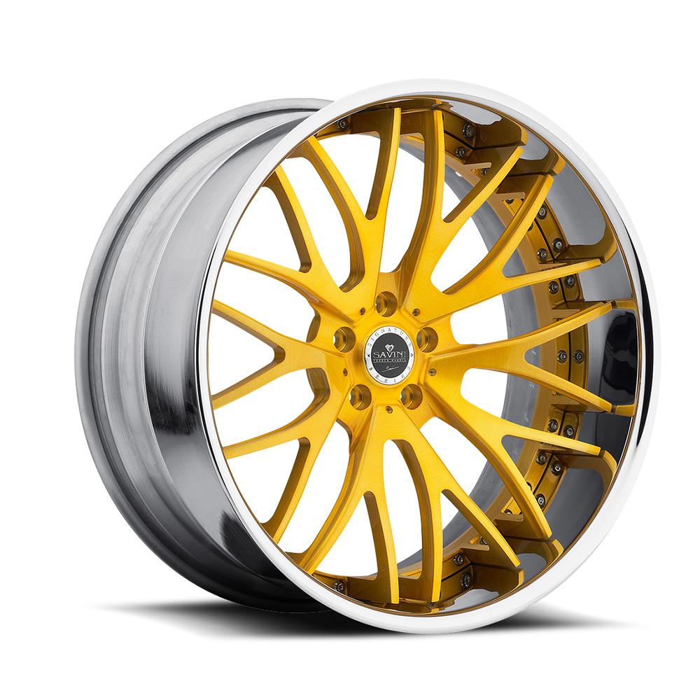 Gold High Polish Chrome | Xtreme Concave