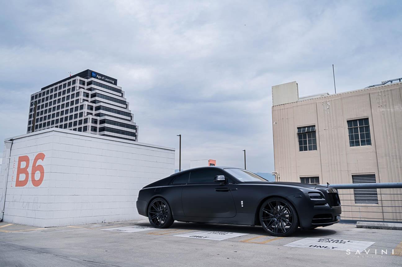 Ncredible Rolls Royce Wraith / NC1  / Savini Wheels