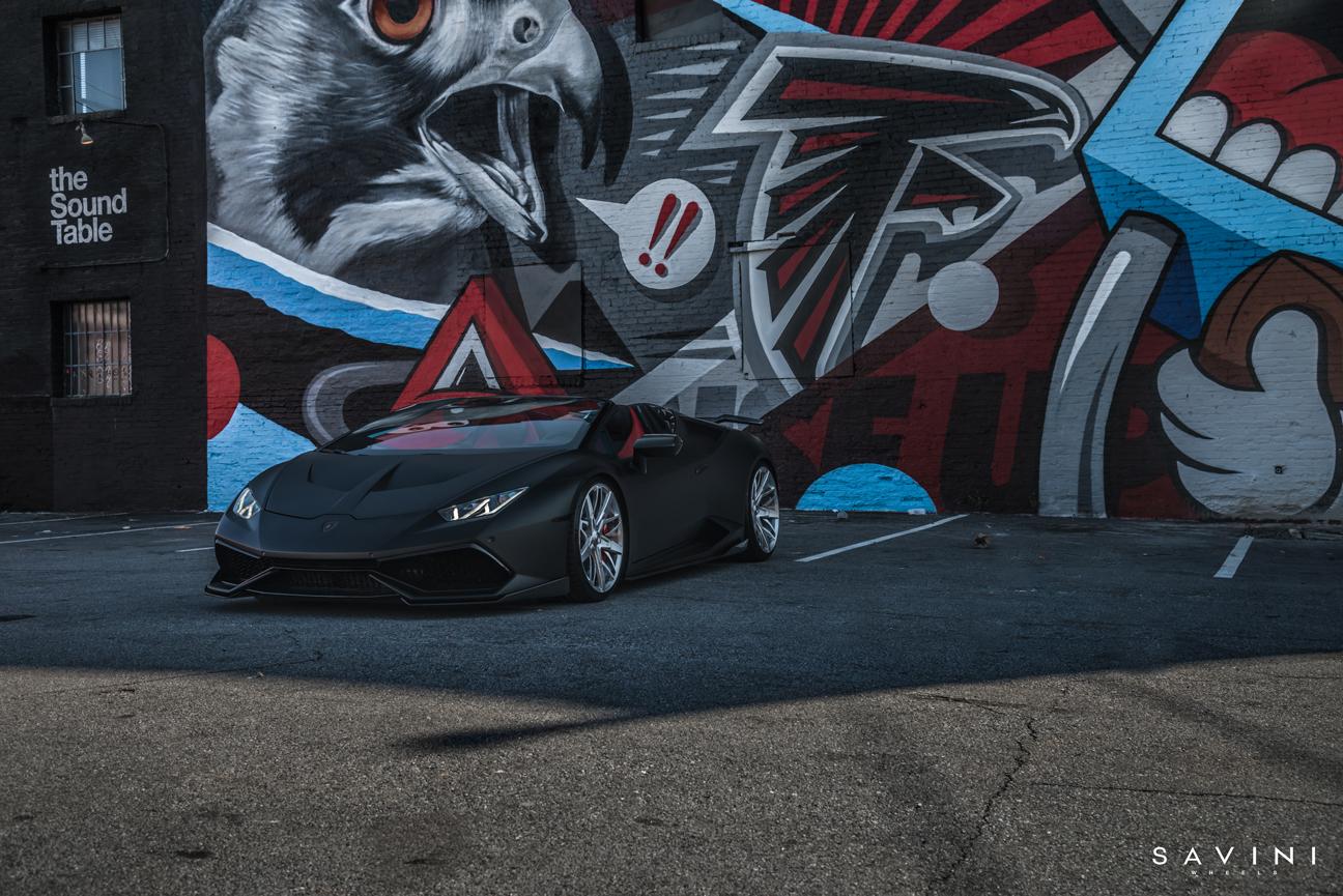 Butler Tires Lamborghini Huracan | SV88 | Savini Wheels