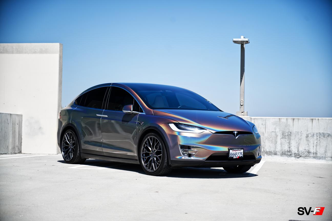 Tesla Model X | SV-F2 | Savini Wheels