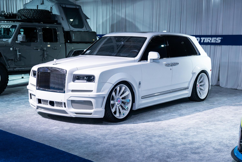 Rolls-Royce Cullinan |  Savini SL3 |Savini Wheels